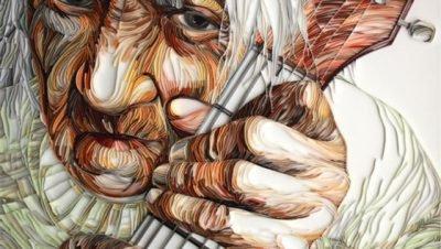 Arte com papeis coloridos de Yulia Brodskaya, artesanato mais que incrível. (13)