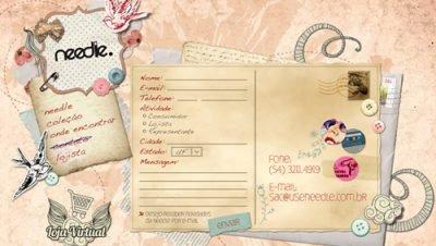 36 imagens de layout de formulários de contato de blogs de design ou sites de design para sua inspiração. (27)