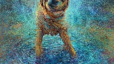 Pinturas impressionantes de Iris Scott em tela, feita com dedos e com uma base de óleo ao extremo, fantástica arte! (7)