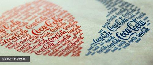 Logos de grandes marcas famosas no mundo todo preenchidas com texturas de logos concorrentes (16)
