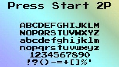 Fontes para usar em 8bits, download grátis para uso comercial e pessoal (9)