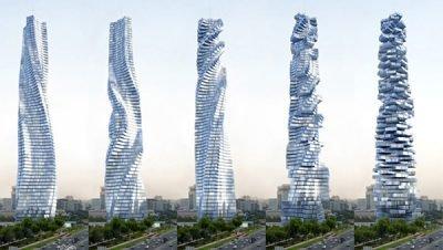 Projeto de Edifícios que giram em Dubai