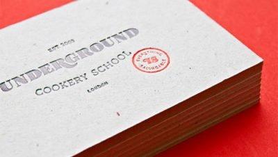 Cartões de visitas feitos com um design limpo e simples, inspire-se - Blog de design Bons Tutoriais (9)