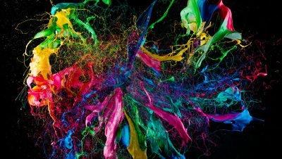 Fabian Oefne cria sua arte com apenas explosões de tinta, um trabalho incrível! (4)
