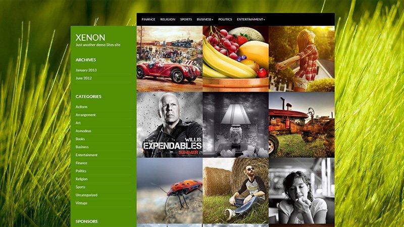 Temas de Wordpress para todos os gostos, feitos para você customizar e criar seu portfólio com um design inovador (1)