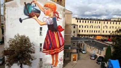 Artworks, urban arts, e outros desenhos feitos pela a artista polonesa Natália Rak (3)