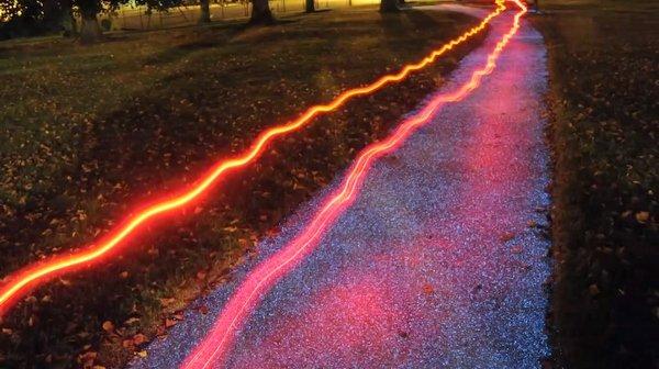 Parques e praças com iluminação super criativa, mais conhecido como StarPath (4)