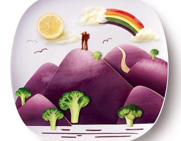 Desenhos feitos com comida muito criativos (5)