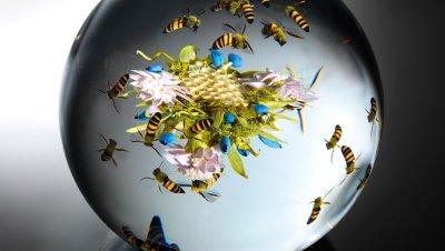 Esculturas da natureza feitas por Paul Stankard (1)