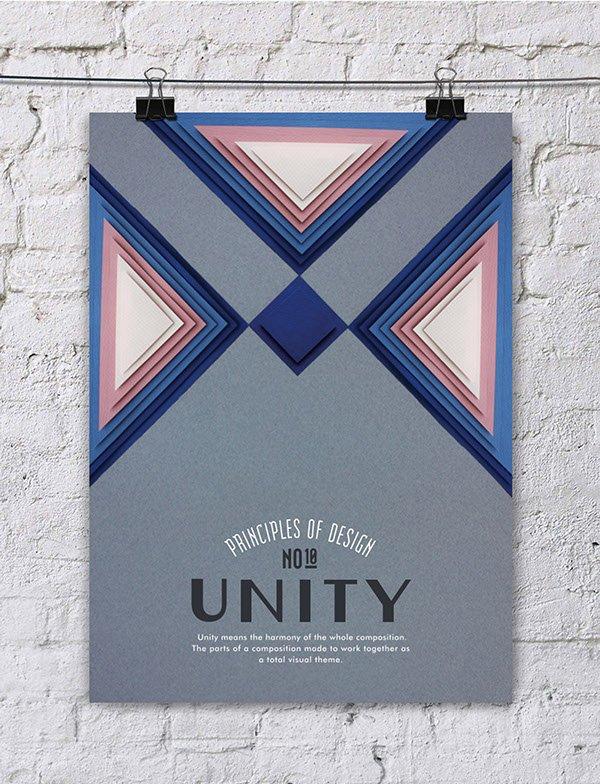 Os princípios do design em montagens com paper art em pôsteres criativos (10)