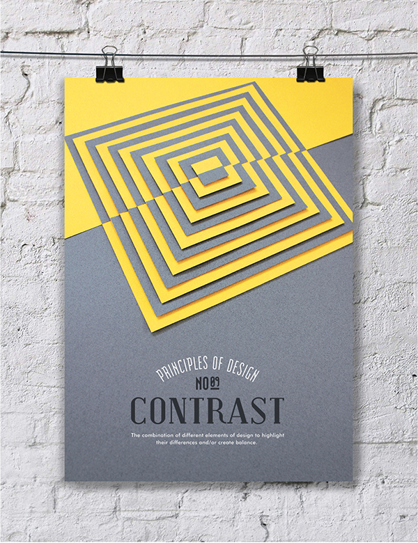 Os princípios do design em montagens com paper art em pôsteres criativos (8)