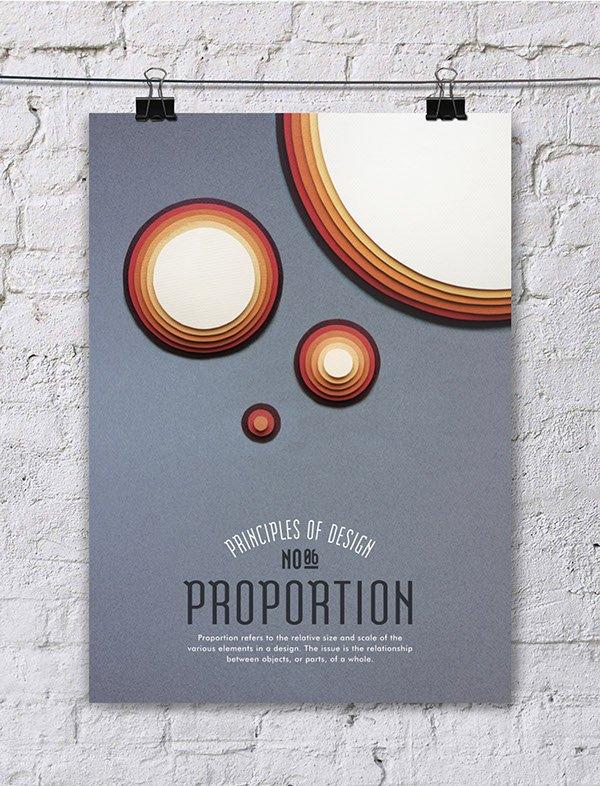 Os princípios do design em montagens com paper art em pôsteres criativos (3)