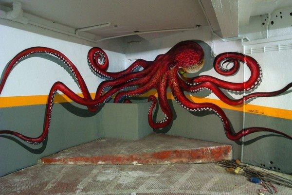 Arte urbana criativa em 3D (12)