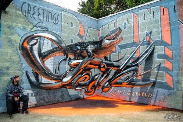 Arte urbana criativa em 3D (10)