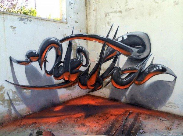 Arte urbana criativa em 3D (8)