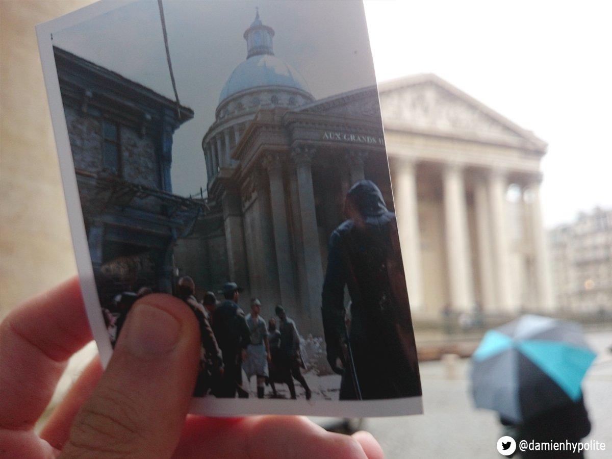 fa faz montagens com comparações da Paris real com Virtual (8)