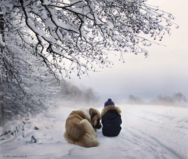 Fotografias inspiradoras com crianças e animais (5)