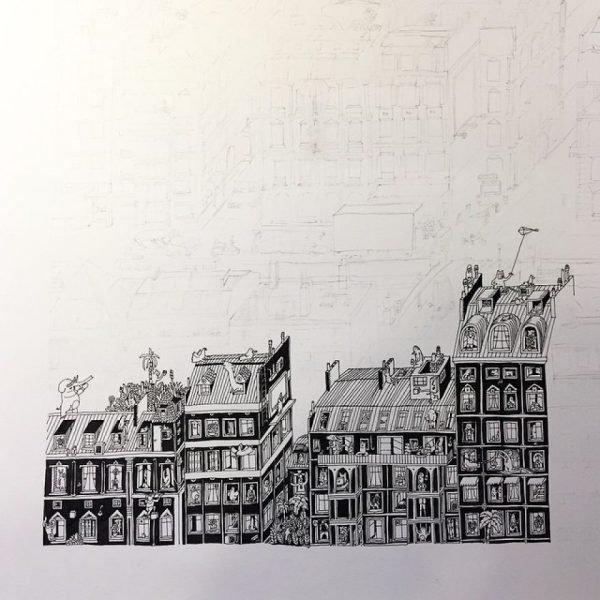 Ilustrações incríveis feitas de cidades minúsculas (8)