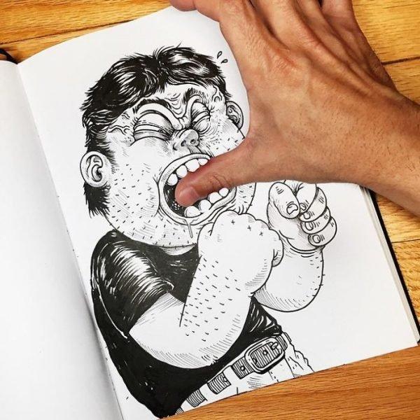 Desenhos criativos em 3d (4)