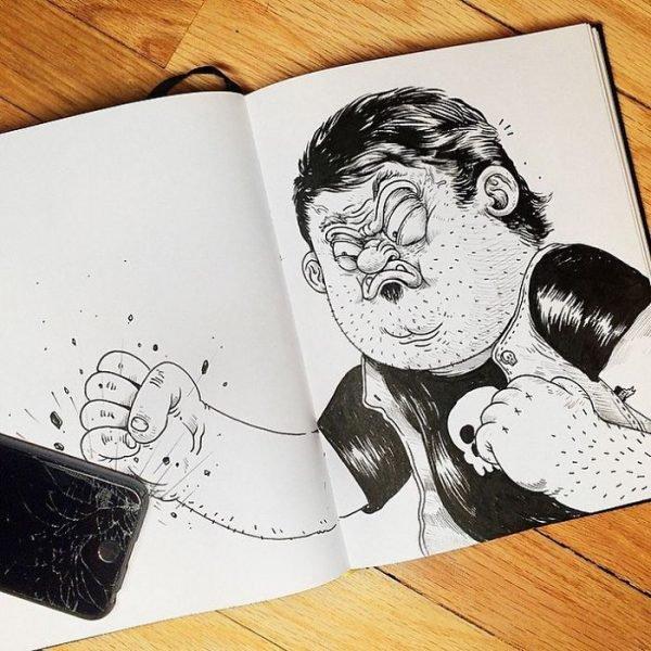 Desenhos criativos em 3d (1)