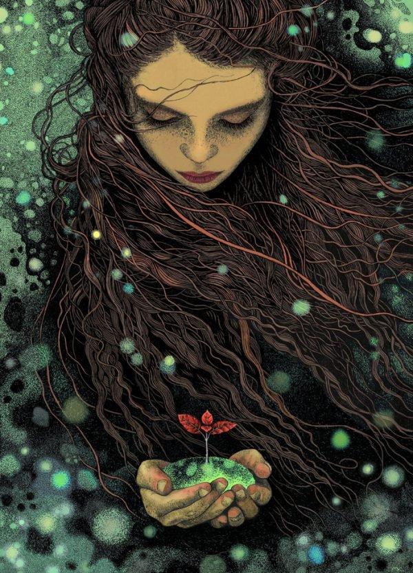 Ilustrações inspiradas em contos de fadas e lendas (5)