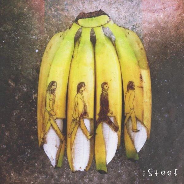 Bananas esculpidas e criativas (9)