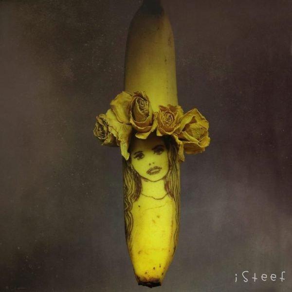Bananas esculpidas e criativas (5)