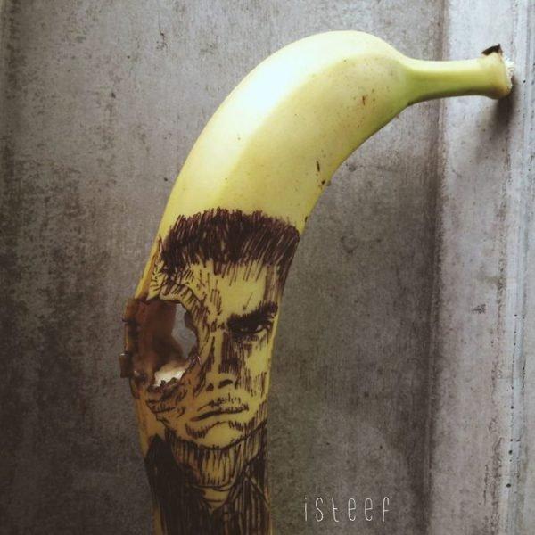 Bananas esculpidas e criativas (18)