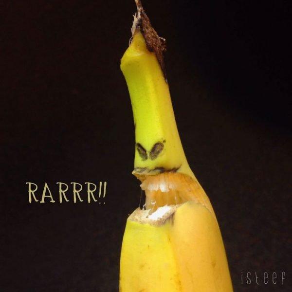 Bananas esculpidas e criativas (17)