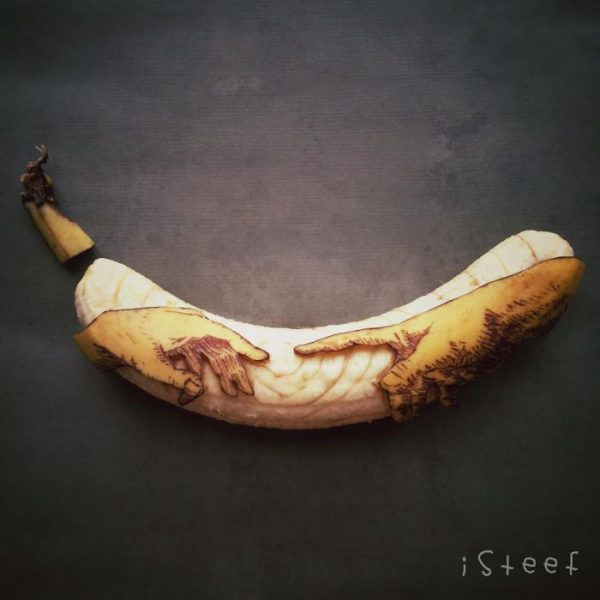Bananas esculpidas e criativas (15)