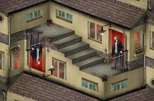 Ilusões e montagens criativas (4)