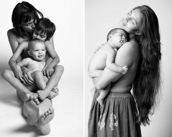 Fotografias lindas e criativas de mulheres depois da gravidez (11)