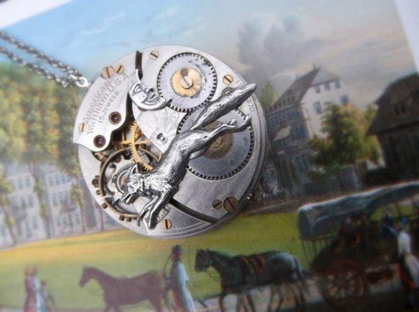 Jóias feitas de peças de relógios antigos (4)