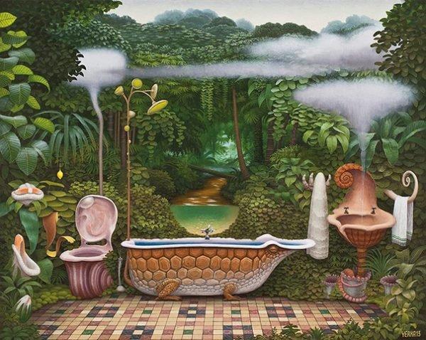 Pinturas surreais e criativas (14)