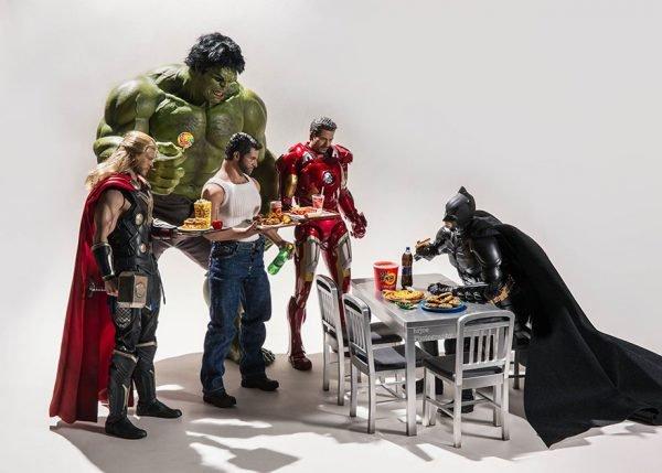 Super heróis no dia a dia (6)