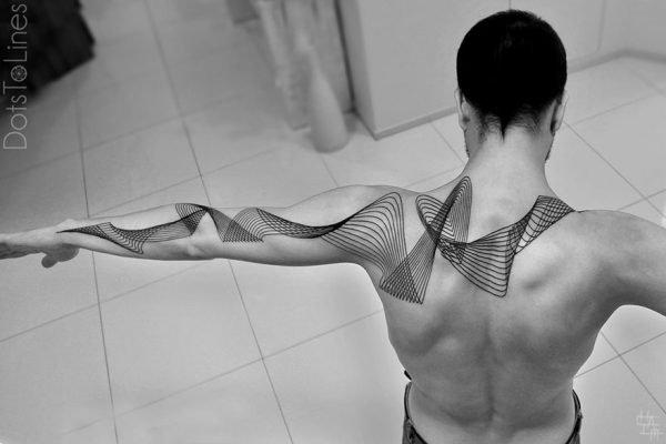 Tatuagens geométricas e criativas (8)