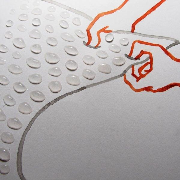 desenhos criativos feitos com objetos do dia a dia (5)