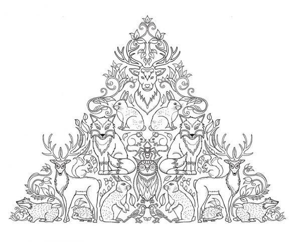 Desenhos criativos feitos para colorir (12)