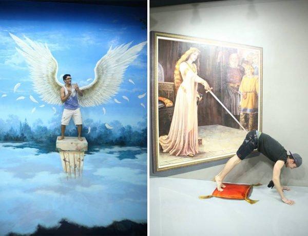 Museu divertido e criativo todo em 3D (3)
