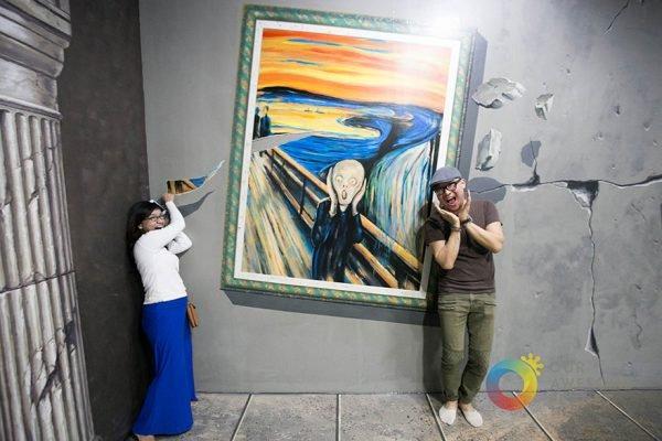 Museu divertido e criativo todo em 3D (8)