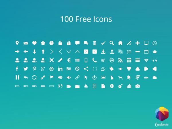 100 icones gratis para utilizar