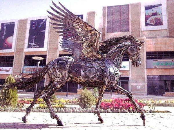 Esculturas fantásticas feitas com ferro (8)