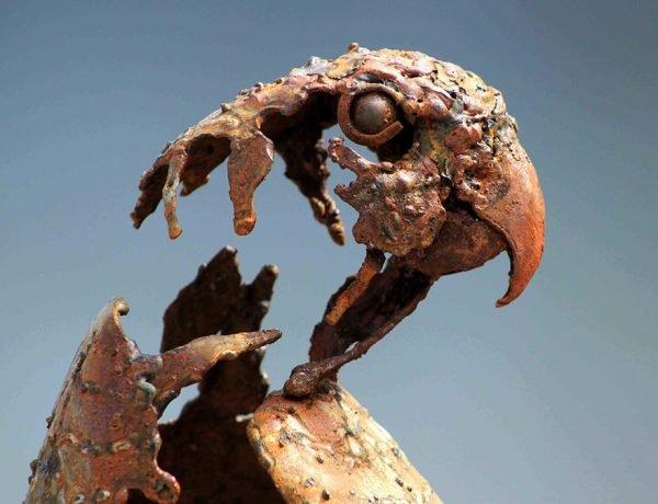 Esculturas fantásticas feitas com ferro (7)