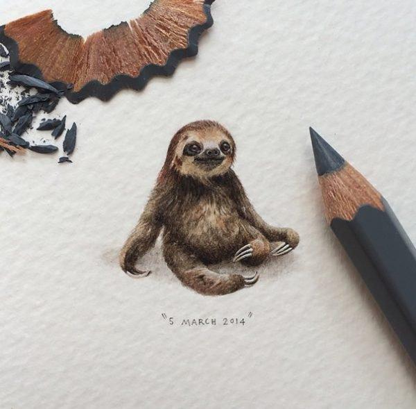 Desenhos criativos e bem pequenos (7)