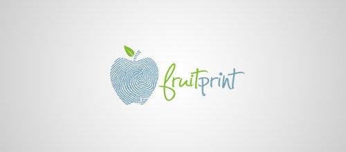Logotipos criativos feitos com digitais (14)