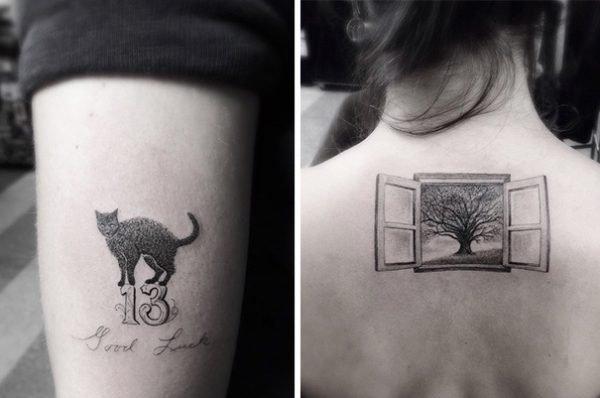 Tatuagens geométricas e criativas (7)