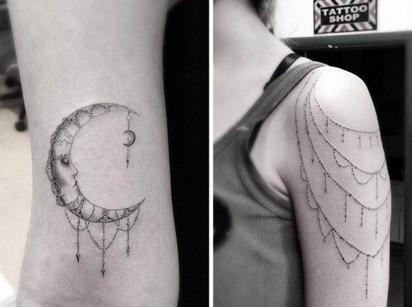 Tatuagens geométricas e criativas (2)