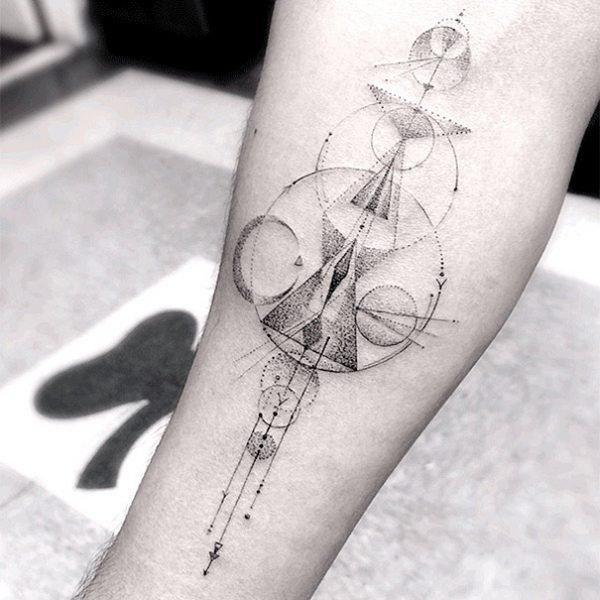 Tatuagens geométricas e criativas (12)