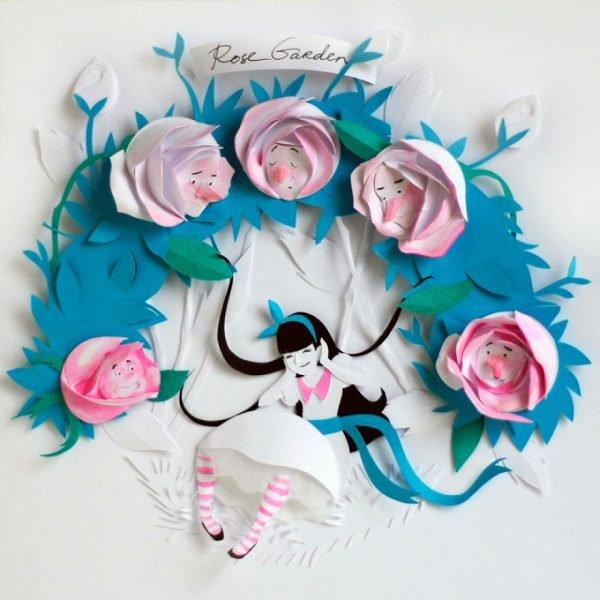 Arte com papel e dobraduras perfeitas (5)
