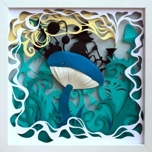 Arte com papel e dobraduras perfeitas (4)